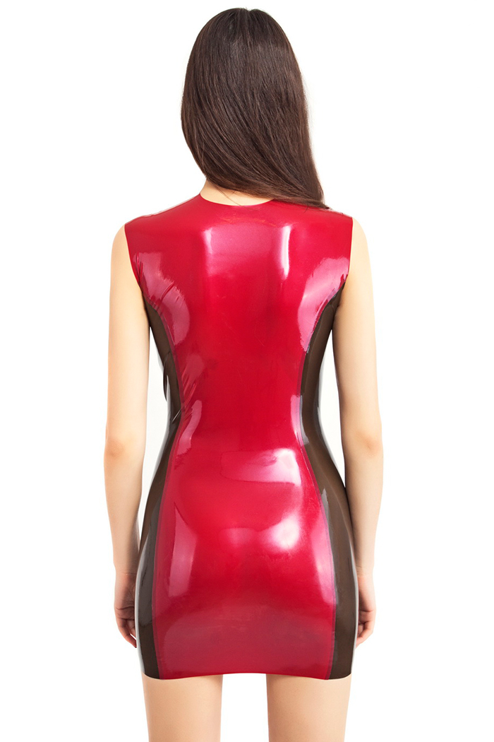 Bright and shiny latex